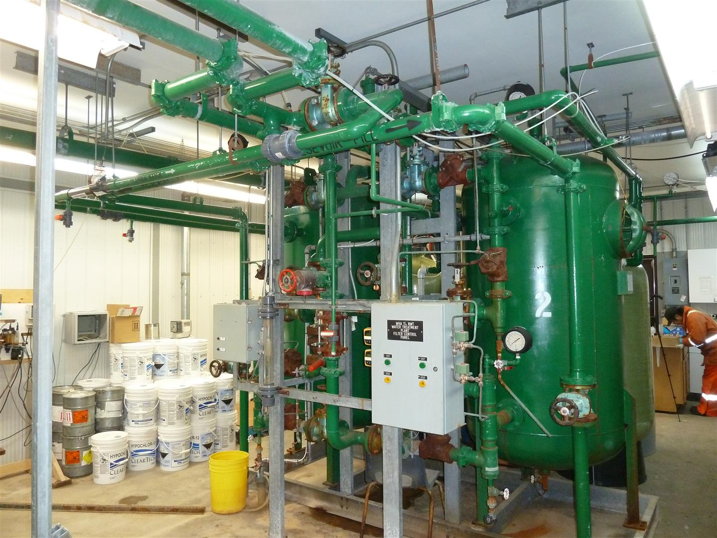 Commercial Water Treatment Sales